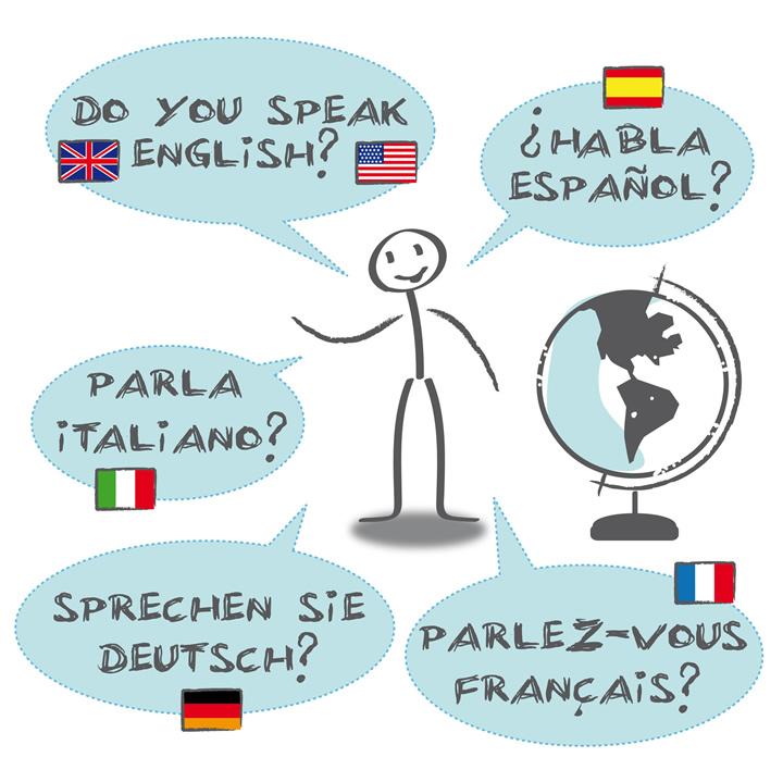 外国語のコミュニケーション